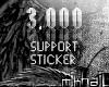 mik™3k Support|Sticker