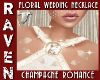 CHMPGNE WEDDING NECKLACE
