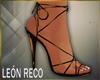 c Brown Heeled Sandals