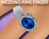 Silver Sapphire Ring