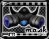 [AM] Gas Mask Blue