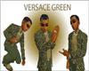 (CB) Versace Green Coat