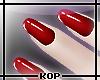 [KOP] Simply Red Nails