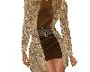 abrigo + vestido+top
