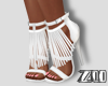 [zuv]shoes fringe white