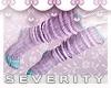 *S Pastel Goth Socks