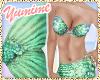 [Y] Bfly Mermaid ~ Mint