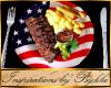 I~RWB*BBQ Rib Dinner