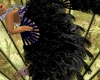 Black Dance Fan