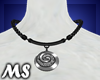 MS Lady Necklace Black