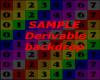Derivable Backdrop/postr