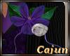 Purple Orchid Buttonhole