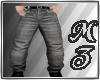 MZ/ Sal Gray Jeans 2