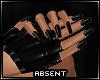 !A Bon Black PVC Gloves