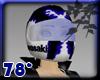 Racer Helmet w blue