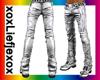 [L] silver pants perfect