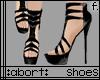 :a: Black PVC Heels v1