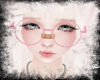 Big Pink Kawaii Glasses