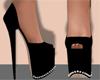 Cyah Black Shoes