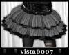 [V7] Grey Tulle Skirt