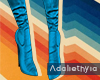 Gracelyne   Boots Blue