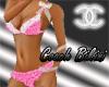 Pink Coach Lace Bikini