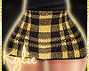 RLS Yellow Plaid Skirt