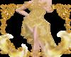 Golden Tango Gown