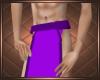 Purple  Loincloth  Short