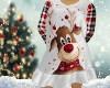 Ladies Rudolph Pj Gown