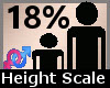 Height Scale 18% F A