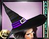 WITCH HAT - BLACK/PURPLE