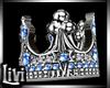 Queen Blue Wedding Ring