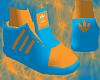 *CA* Blu/Orange Didas