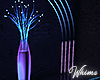 Neon Nights Light Vase