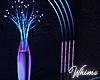 Neon Nights Light Vase