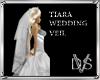 TIARA WEDDING VEIL WHITE