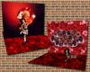 ~Oo Ruby Red Garnet Wall