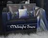KC~Midnight Snow Luvseat