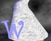 *W* White Fur Skirt