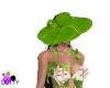 banana leaf hat