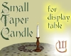 Small Taper Candle
