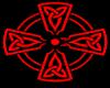 Red Celtic Cross