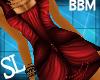 [sl]Goth Dress BBM Red