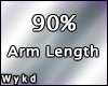 Arm Length Scaler 90%