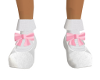 KidS-White Shoe/Pink Bow