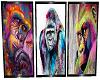 3x gorilla posters