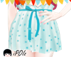 [PT] kawaii blue skirt
