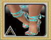 (AL)Summer Shoes Teal