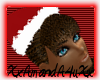 [A4] hair with santa hat